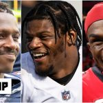 The Ravens should look to add Julio Jones, A.J. Green or Antonio Brown - Bart Scott | Get Up
