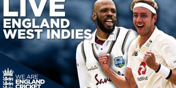 🔴 LIVE England v West Indies Full Test Highlights | Broad Takes 500th Test Wicket! | England Cricket 1
