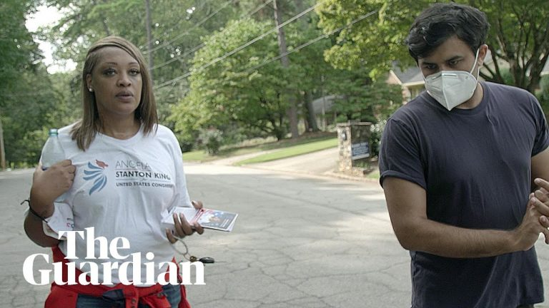 Civil rights and Qanon candidates: the fight for black voters in Georgia   Anywhere but Washington