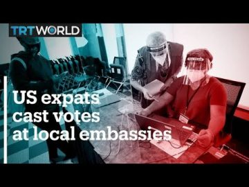 US expats cast votes at local embassies