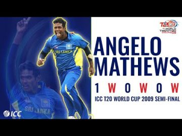 'Full, straight, not quick' | Angelo Mathews does the job | T20WC 2009 semi-final
