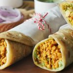 Chicken Qeema Paratha Roll Recipe By Food Fusion