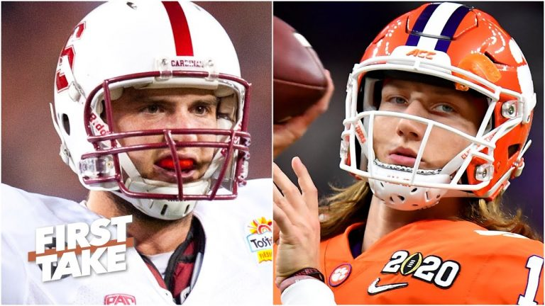Is Trevor Lawrence the best QB draft prospect since Andrew Luck? Tim Tebow weighs in   First Take