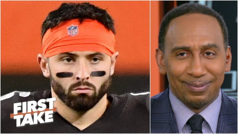 'The more Baker Mayfield throws, the more you're in danger of losing!' - Stephen A. | First Take