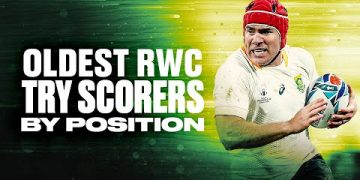 🏉 Oldest RWC Try Scorers By Position 🏆 2