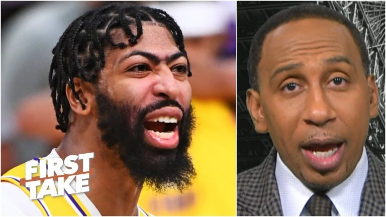 Stephen A. reacts to the Lakers taking a 3-1 lead over the Heat | First Take