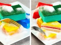 FAKE SPONGE CAKE    25 Crazy And Quick DIY Hacks   Clean, Tidy Up And Organize Your House