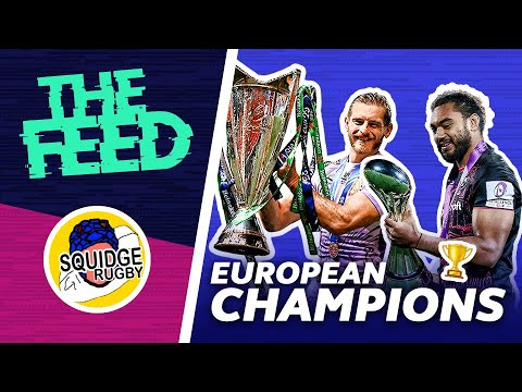🏆 European Champions Crowned & Bledisloe Cup Round-up 🏆 | The Feed EP 28 1