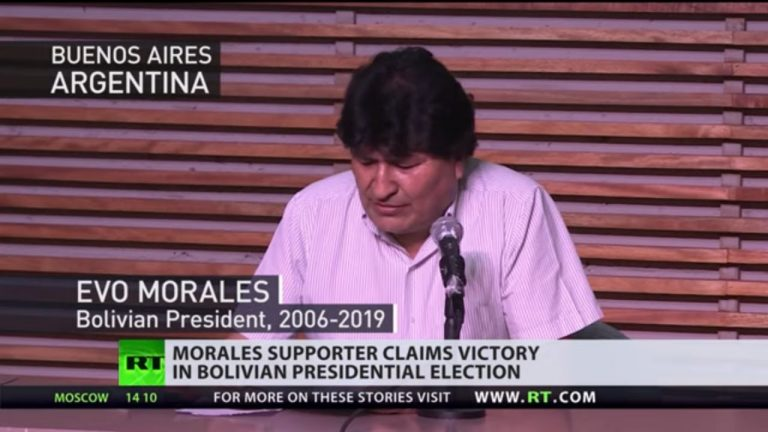Socialist victory in Bolivia   Exiled Morales vows to return
