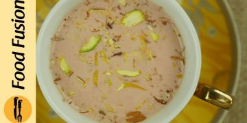 Kashmiri Chai (Pink Tea) Recipe By Food Fusion