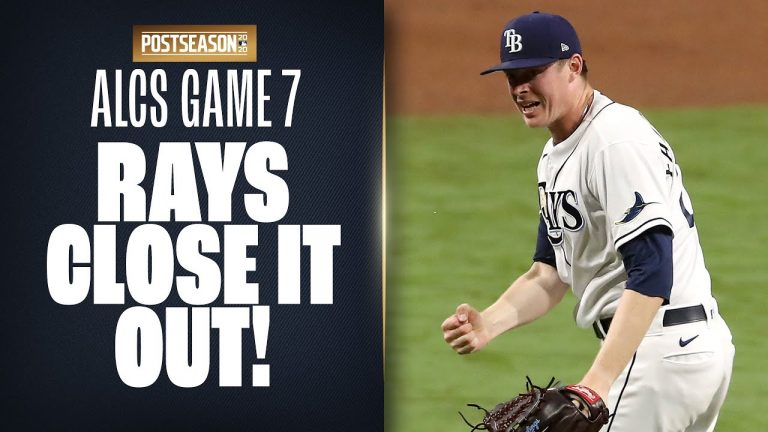Full 9th Inning as Rays try to close out ALCS Game 7 and move on to World Series!
