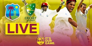 WORLD RECORD Test Run Chase in Full! | Windies v Australia 2003 | LIVE STREAM