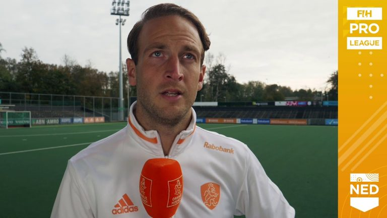 Billy Bakker talks ahead of the restart of their matches at the 2020 FIH Pro League