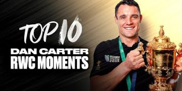 👑 KING CARTER 👑 Dan Carter's Top 10 Rugby World Cup Moments 11