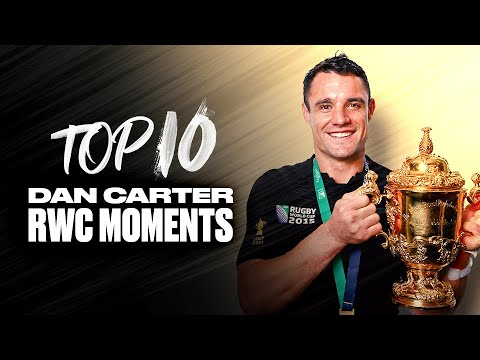 👑 KING CARTER 👑 Dan Carter's Top 10 Rugby World Cup Moments 1