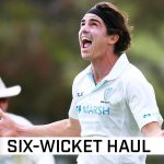 Abbott defies Shield run fest to take six against WA | Marsh Sheffield Shield 2020-21