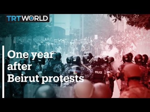 One year on, Lebanese protesters cling to their demands