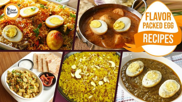 Flavour Packed Egg Recipes By Food Fusion