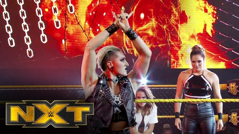 Rhea Ripley and Raquel González look ahead to next week's showdown: WWE NXT, Oct. 21, 2020