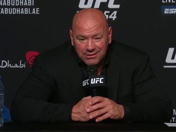 UFC 254: Dana White Post-fight Press Conference