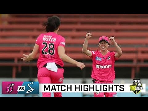 Sixers master conditions to overcome Strikers | Rebel WBBL06
