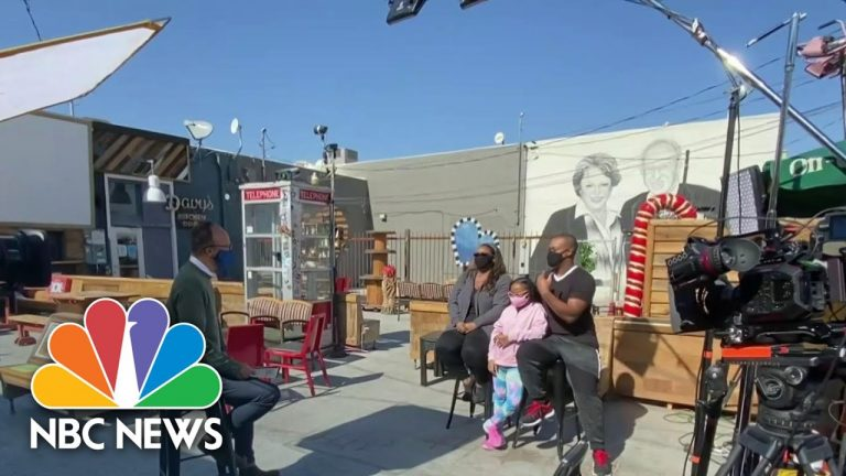 Do Nevadans Think Trump Or Biden Will Get America's Economy Back On track? | NBC Nightly News