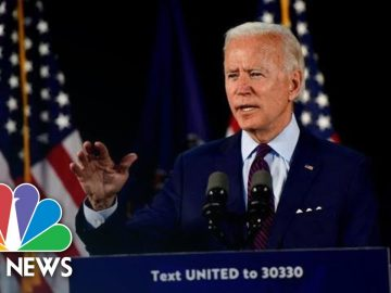 Biden Delivers Remarks On Coronavirus And The Economy | NBC News