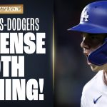 Dodgers try for HUGE 9th inning comeback on Braves in NLCS Game 2!
