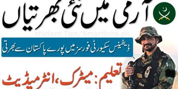Latest Jobs in DSF Defence Security Force , Pak Army new jobs
