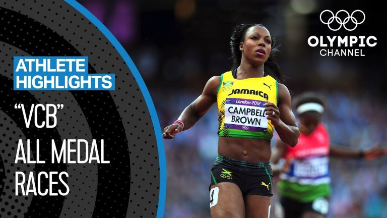 Veronica Campbell-Brown 🇯🇲 - Eight-Time Olympic Medallist | Athlete highlights 1