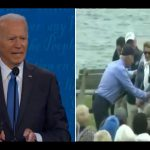 Biden told Trump that he never opposed fracking...well...this is awkward