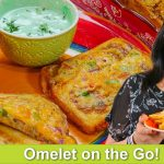 Omelet on the Go Fast & Easy Breakfast Idea Recipe in Urdu Hindi - RKK