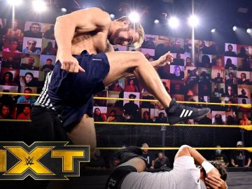 Timothy Thatcher's live Thatch-As-Thatch-Can exhibition: WWE NXT, Oct. 21, 2020