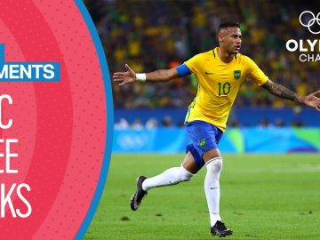 Top 10 Free Kicks At The Olympics | Top Moments
