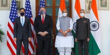The United States and India signed a pact to share sensitive satellite and map data. 14