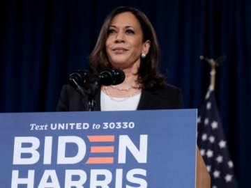 Harris on Pence interruption: Mr. Vice President, I am speaking 15