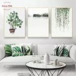 Beautiful wall decoration with flowers 4