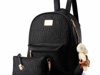 Black backpack. 42