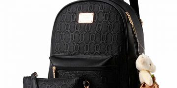 Black backpack. 23
