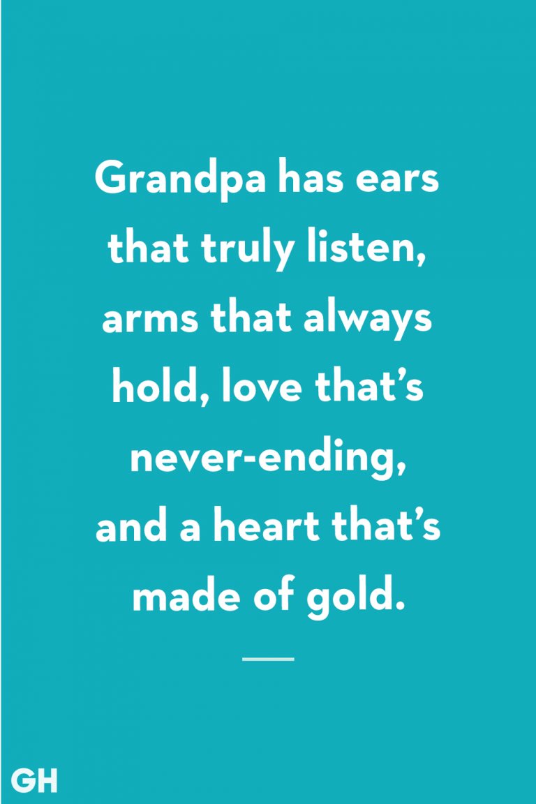 Best Relationship with grandfather. 1