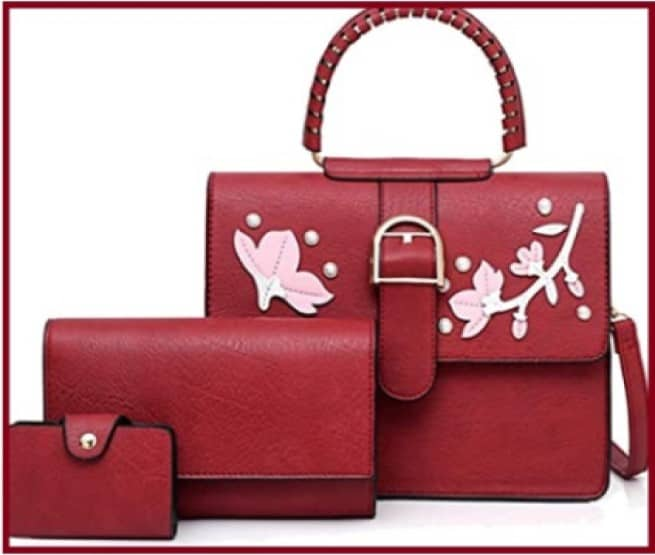 Beautiful Red bag. 1