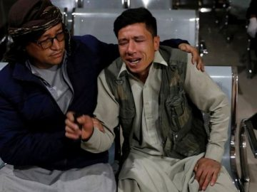 At least 18 people have been killed in a suicide bomb attack outside an education centre in Kabul, 12