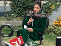 Mehbooba Mufti refuses to raise India's national flag in hard-hitting press conference in Kashmir 14