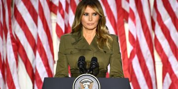 Media created picture of my husband I don't recognise' - Melania Trump 24