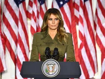 Media created picture of my husband I don't recognise' - Melania Trump 16