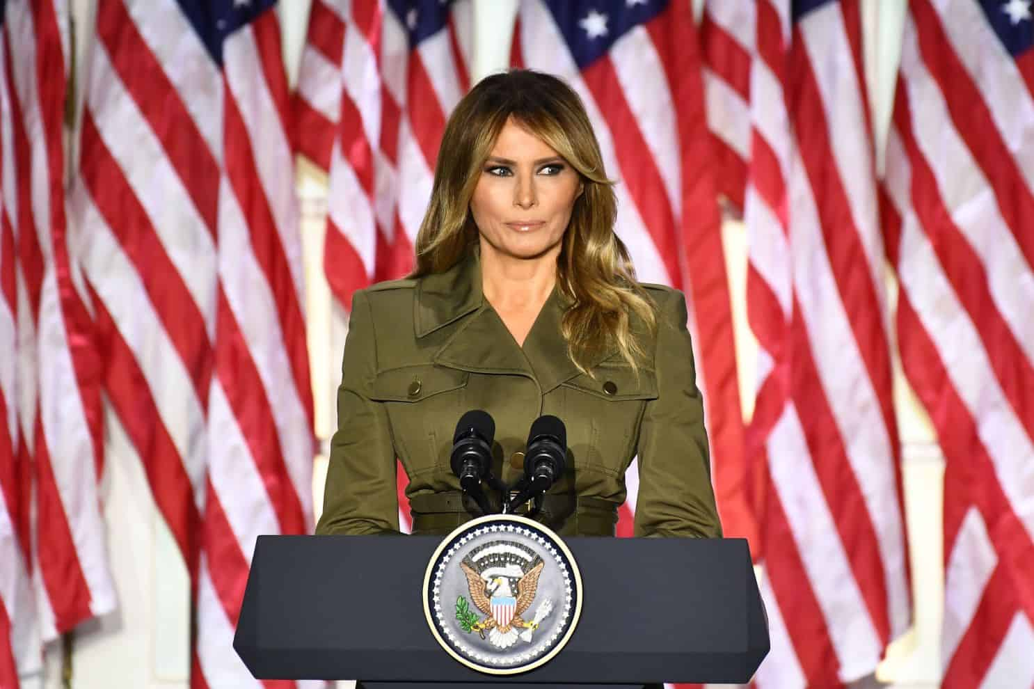 Media created picture of my husband I don't recognise' - Melania Trump 4