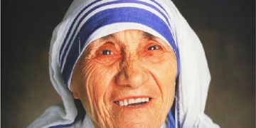 Mother Teresa, the Founder of the Missionaries of Charity. 4