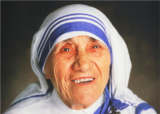 Mother Teresa, the Founder of the Missionaries of Charity. 1