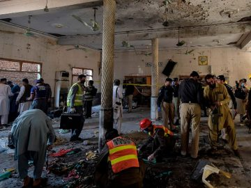 The Peshawar attack may have been an effort form the spoilers of the Afghan peace process. 8
