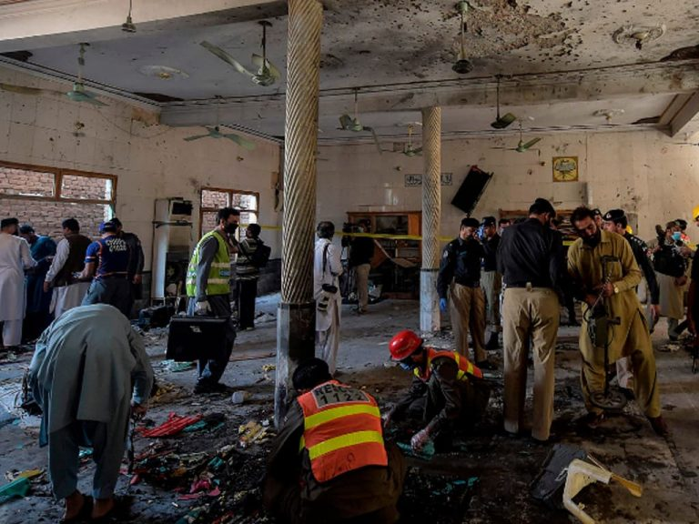 The Peshawar attack may have been an effort form the spoilers of the Afghan peace process. 1
